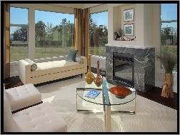 Stolar Okna : Okna stół kanapy kominek na pulpit